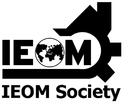 IEOM logo black and white